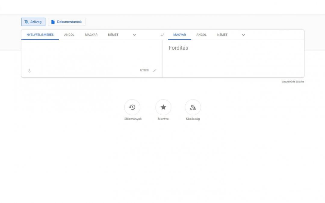 Mit érdemes tudni a Google Fordító weboldaláról?